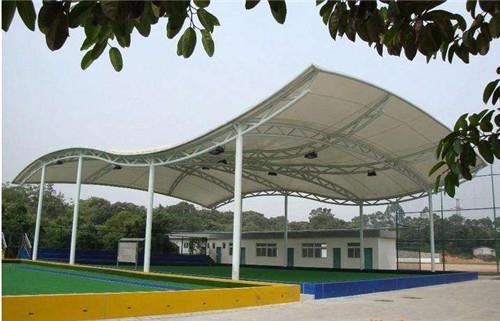 陕西膜结构网球场定制