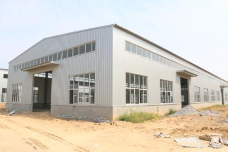 钢结构厂房为客户设计制作成功!
