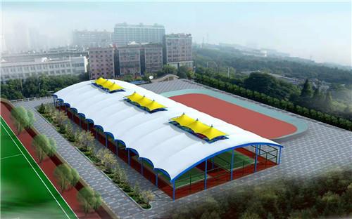 世界上.大的帐篷,膜结构施工技术分析