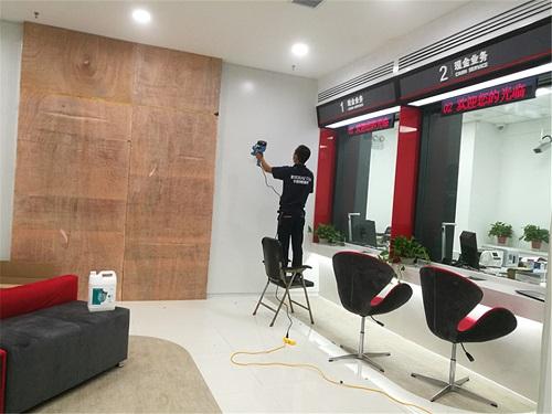 郑州除甲醛公司治理中国工商银行除甲醛工作