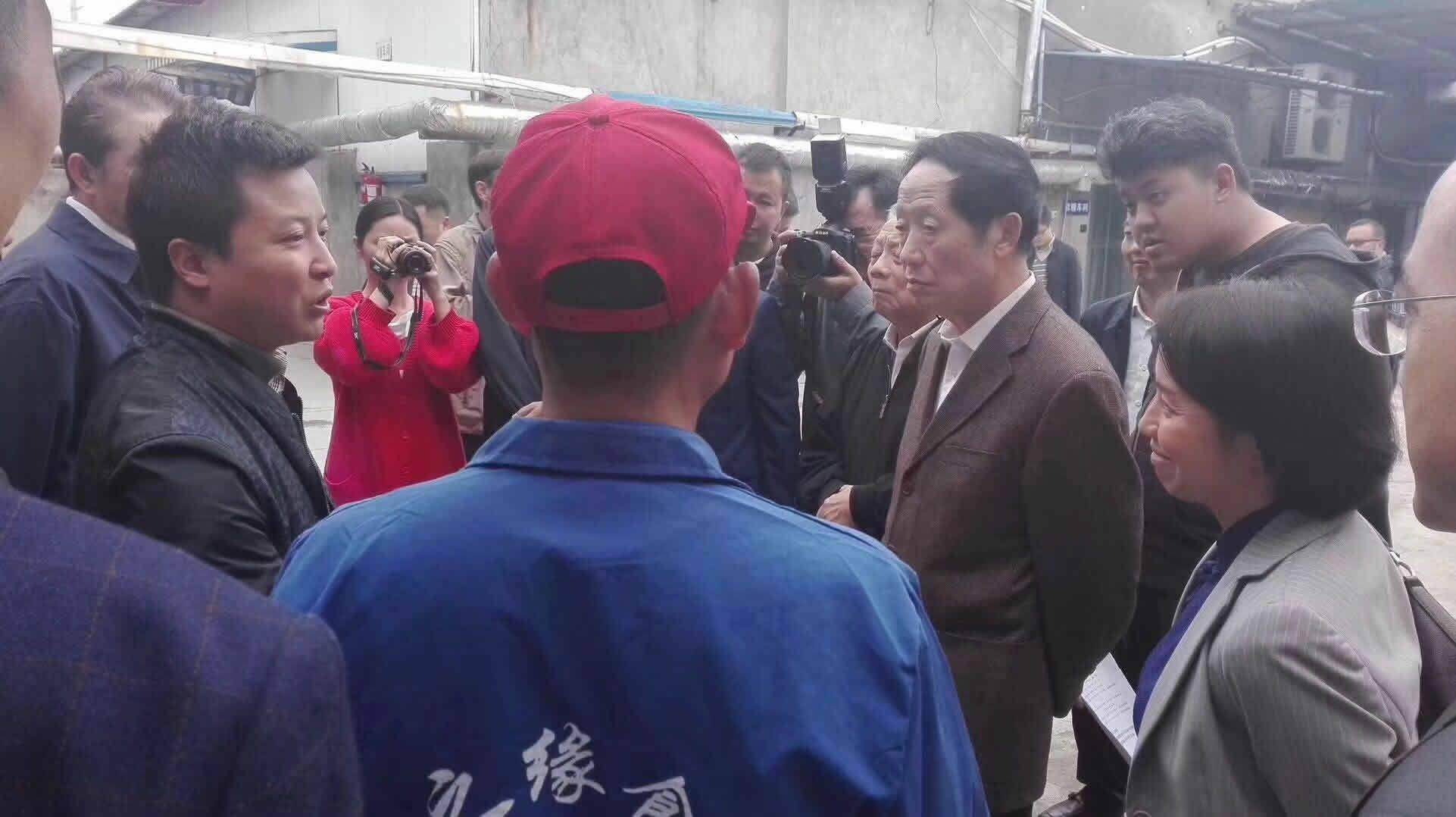 四川省常委副省长一行来我司重点项目视察指导