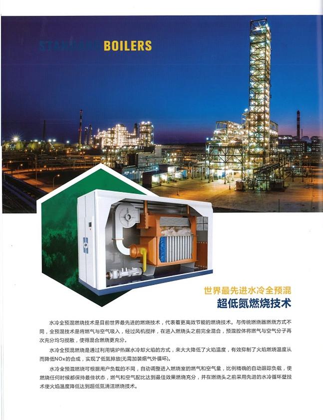 低氮冷凝一体蒸汽发生器