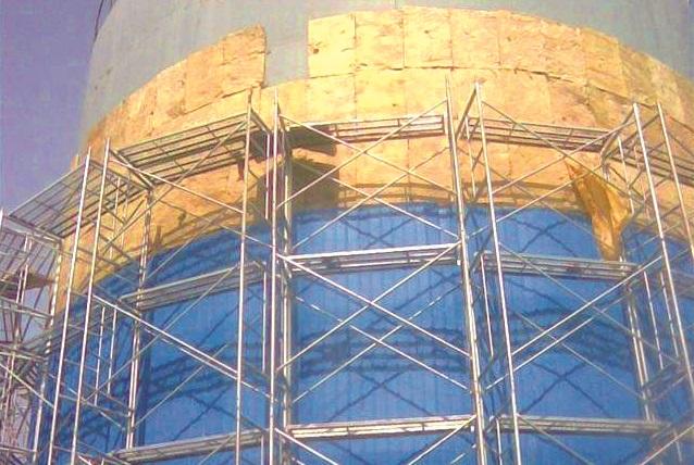 内蒙岩棉板厂家储油罐防火保温施工