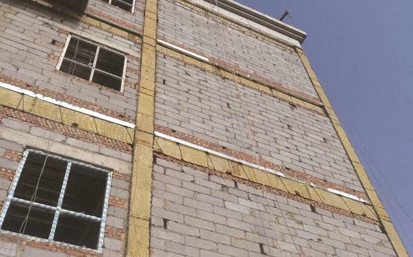 内蒙岩棉板厂家楼层防火带施工