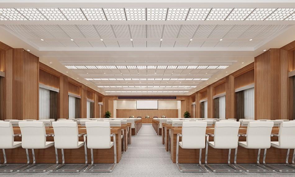 如何日常维护会议室槽木吸声板?