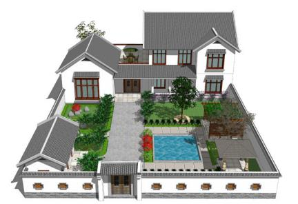 陕西新型别墅施工