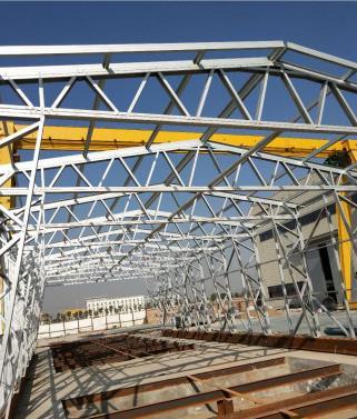 陕西钢结构房施工