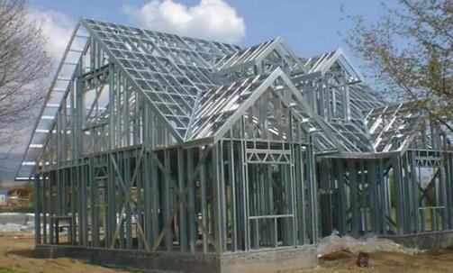 轻钢别墅施工流程