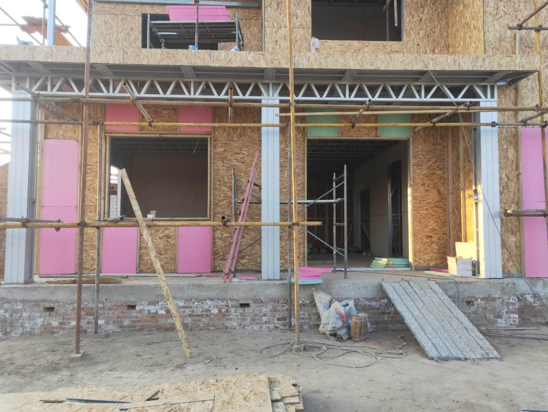 外墙结构板安装