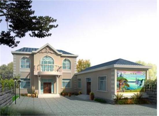 陕西轻钢别墅,一个让人惊艳的房屋
