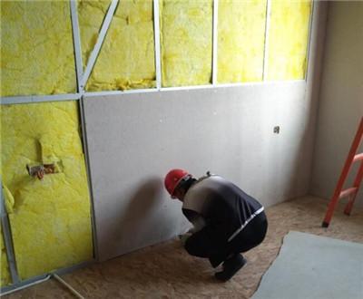 保温棉板轻质隔墙