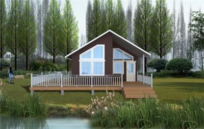 旅游地小房子