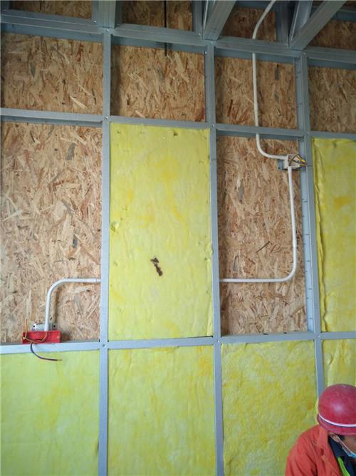 轻钢隔墙项目施工