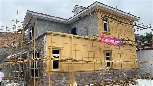 外墙真石漆施工