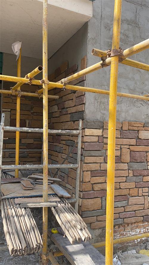 外墙文化石安装
