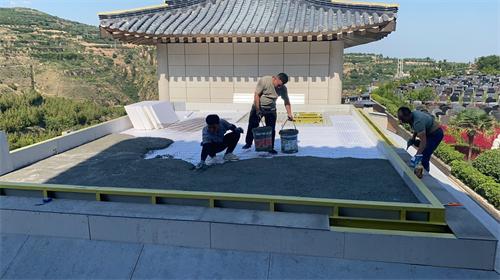 屋顶防水施工