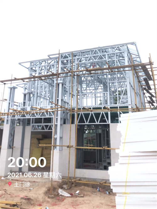房子主体结构完成