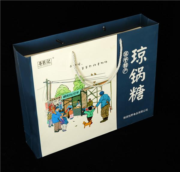 瓊鍋糖食品禮盒設計