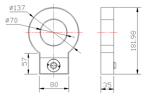 ELZC1-12型電子式電流互感器