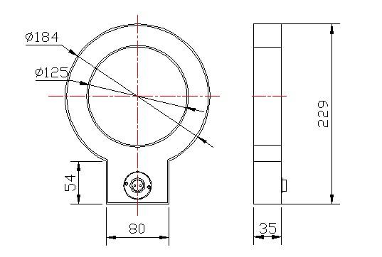 ELX1-12型零序电流互感器