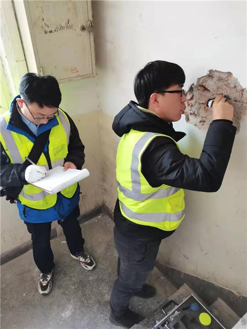 2020.12.22陕西某学院北家属楼结构安全性检测
