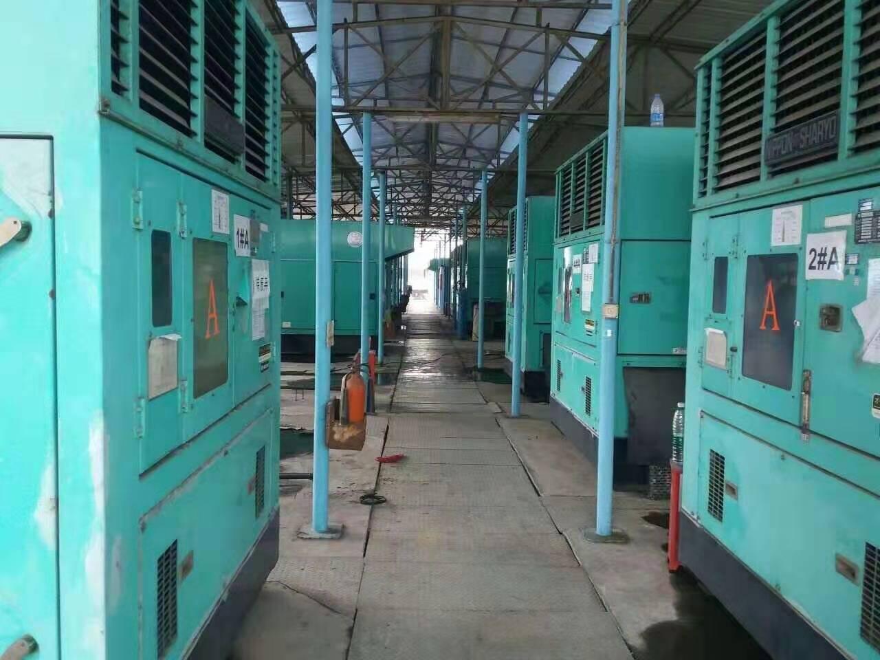 静音发电机厂房