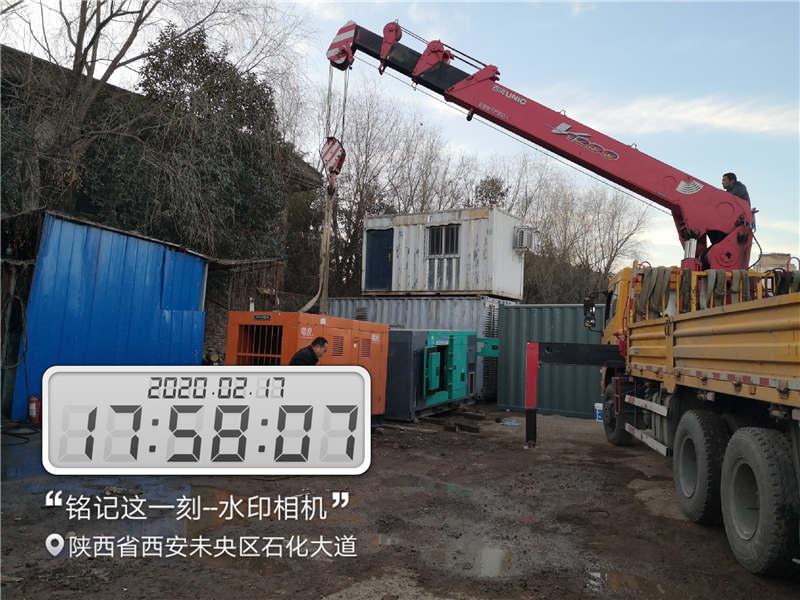 西安发电机出租_500KW发电机租赁