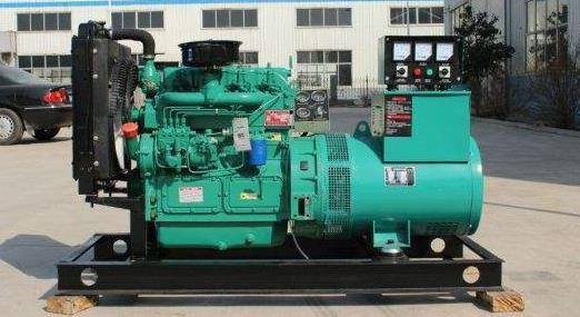 旬邑县柏岭寺水库工程建设处提供玉柴500KW发电机