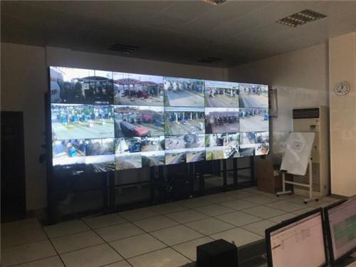 西宝高速收费站监控机房工程案例
