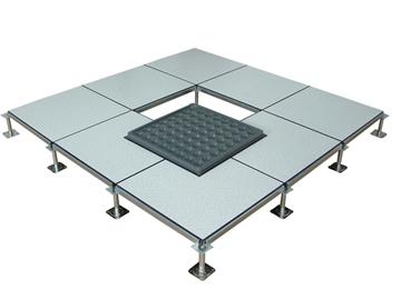 对于机房静电地板施工方法主要有哪些?主要有哪些需要注意的?