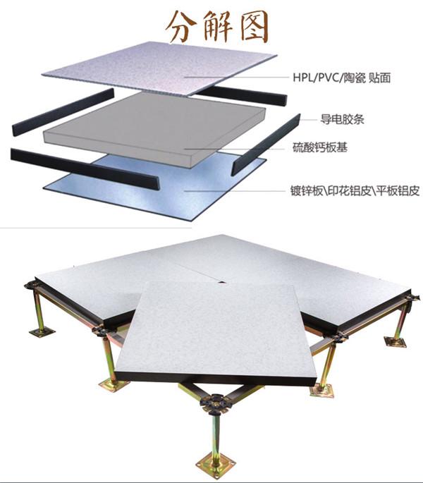 选择全钢防静电地板注意的几点