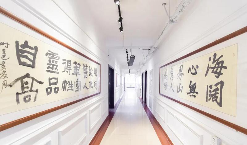 沙井驿校区文化长廊