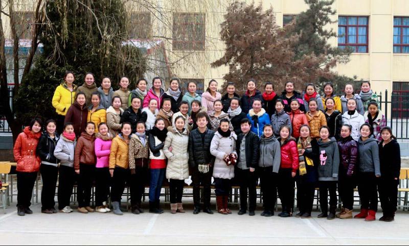 2013届舞蹈2班合影(部分学员)