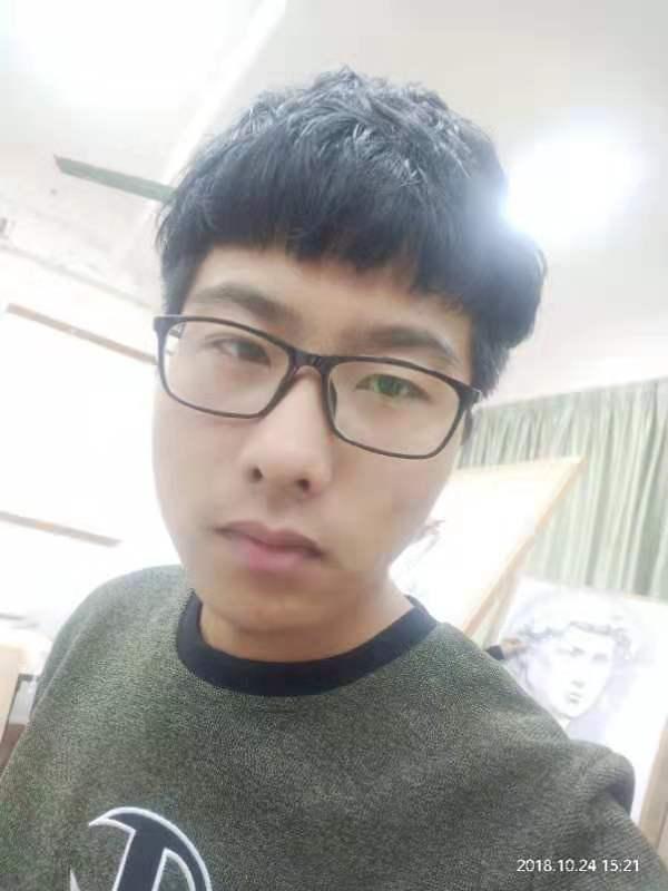 胡海岳被南宁师范大学美术学录取