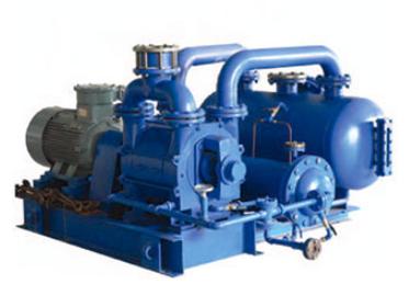 2BW系列水环式真空泵闭路循环系统