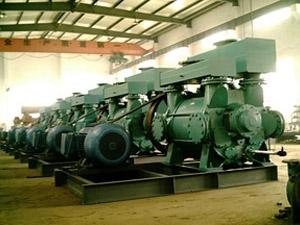 罗茨水环真空泵机组注意事项