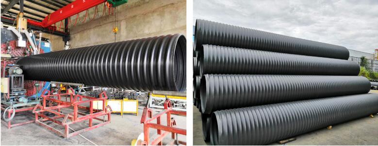 中空壁塑钢缠绕聚乙烯管道