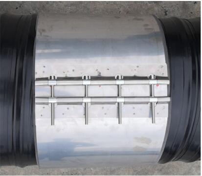 不锈钢卡箍连接