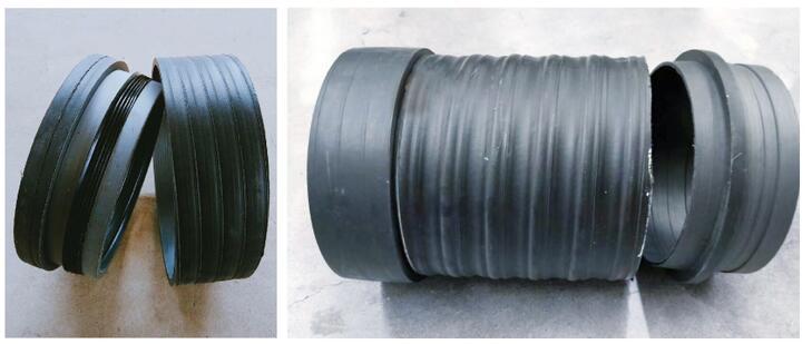 承插式橡胶圈柔性连接