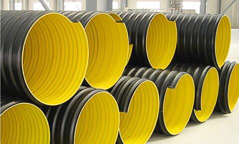 钢带增强聚乙烯螺旋波纹管