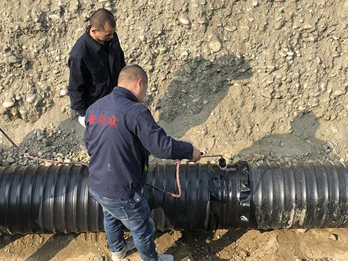 成都中空壁塑钢缠绕管