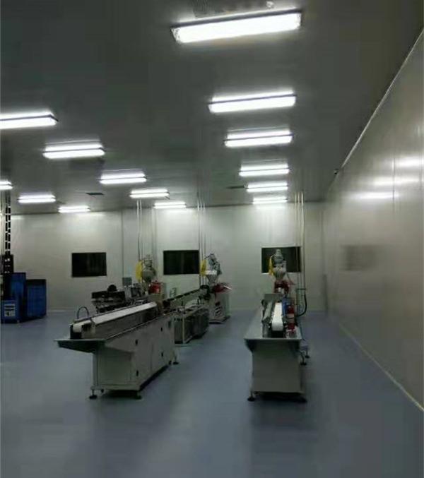 工业电子厂房净化室