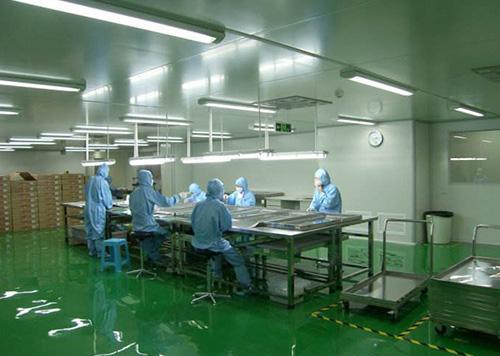 口罩厂无尘车间设计规划与装修