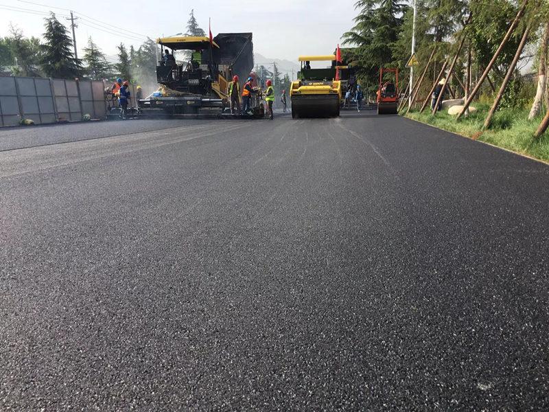西沣路二级道路改造项目