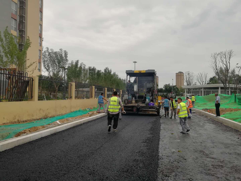 沥青混凝土施工