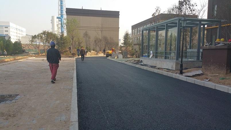 启航佳境沥青混凝土道路施工