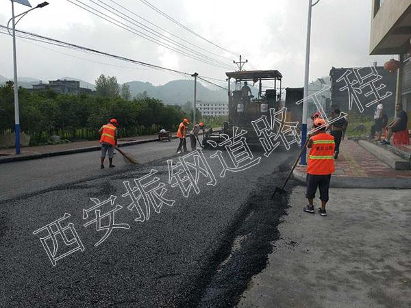 陕西道路施工