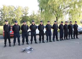 内蒙古保安公司成员展示