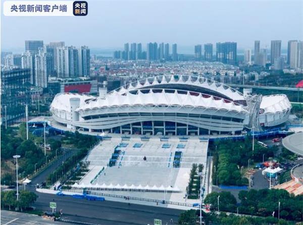 第七届世界军人运动会开幕式10月18日晚20时在武汉体育中心举行