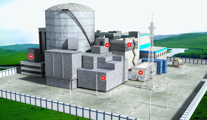 成都碳纖維布——核能源電站案例